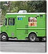 Food Trucks Canvas Print