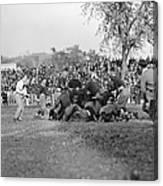 Football Game, 1912 Canvas Print