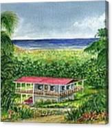Foothills Of El Yunque Puerto Rico Canvas Print