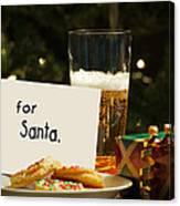 For Santa. Canvas Print