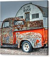Ford At The U We Wash Canvas Print