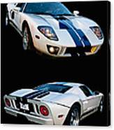 Ford Gt Twins Canvas Print