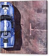 Ford Gt40 Leman Classic Canvas Print