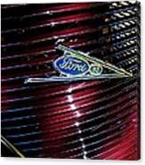 Ford Model 85 Emblem Canvas Print