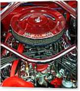 Ford Mustang Engine Bay Canvas Print