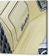 Ford Thunderbird Head Light Canvas Print