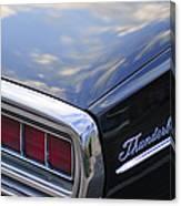 Ford Thunderbird Taillight Canvas Print