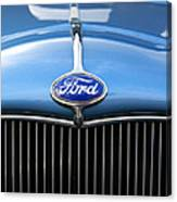 Ford Truck Emblem Canvas Print