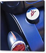 Ford V8 Taillight And Gas Cap Canvas Print