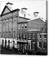 Fords Theater - After Lincolns Assasination - 1865 Canvas Print