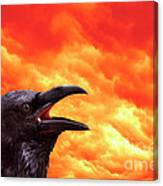 Foreboding Canvas Print