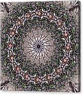 Forest Mandala 5 Canvas Print