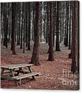 Forest Table Canvas Print