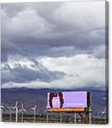Forever Palm Springs Canvas Print