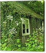 The Forgotten English Cottage Canvas Print
