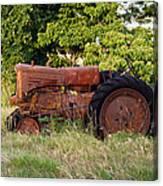 Forgotten Tractor 23 Canvas Print