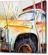 Forgotten Truck Canvas Print