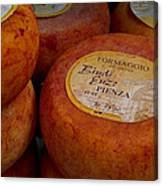 Formaggio Cheese Of Italy Canvas Print