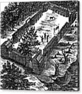 Fort Boonesborough, 1775 Canvas Print