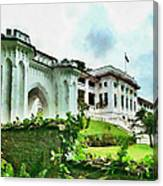Fort Canning Park Visitor Centre Canvas Print