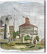 Fort Dearborn, 1830 Canvas Print