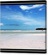 Fort Desoto Beach Canvas Print