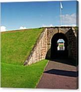 Fort George Port Canvas Print