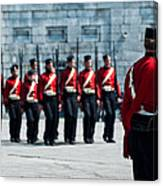 Fort Henry Guards Drill Canvas Print