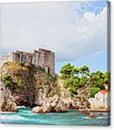 Fort Lovrijenac In Dubrovnik Canvas Print