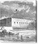 Fort Pulaski, Georgia, 1861 Canvas Print