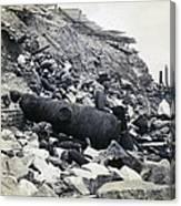 Fort Sumter Civil War Debris - C 1865 Canvas Print