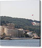 Fortress Canakkale And War Memoriel - Dardanelles Canvas Print