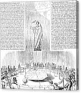 Foucaults Pendulum, 1851 Canvas Print