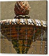 Fountain Art I Canvas Print