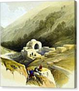 Fountain Of Job Valley Of Hinnom Canvas Print