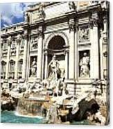 Fountain Of Trevi Canvas Print