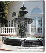 Fountains Of Love Canvas Print