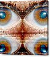 Four Eyes Canvas Print