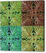 Four Times Four I Canvas Print