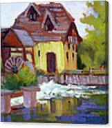 Fourge Mill Giverny Canvas Print