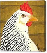 Fowl Mood Canvas Print