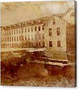 Fox River Mills Canvas Print