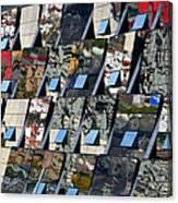 Fragmented Guggenheim Museum Bilbao Canvas Print