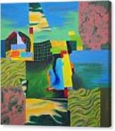 Fragments Number 8 Canvas Print