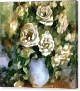 Fragrant Roses Canvas Print