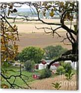 Framed By Tree Canvas Print