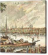 France: La Rochelle, 1762 Canvas Print