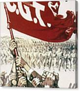France: Popular Front, 1936 Canvas Print