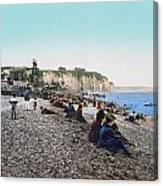 France: Resort, C1895 Canvas Print