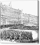 France: Revolution Of 1848 Canvas Print
